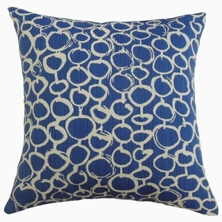 Velisa Geometric Throw Pillow Royal