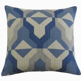 Yardan Throw Pillow Geometric Baltic