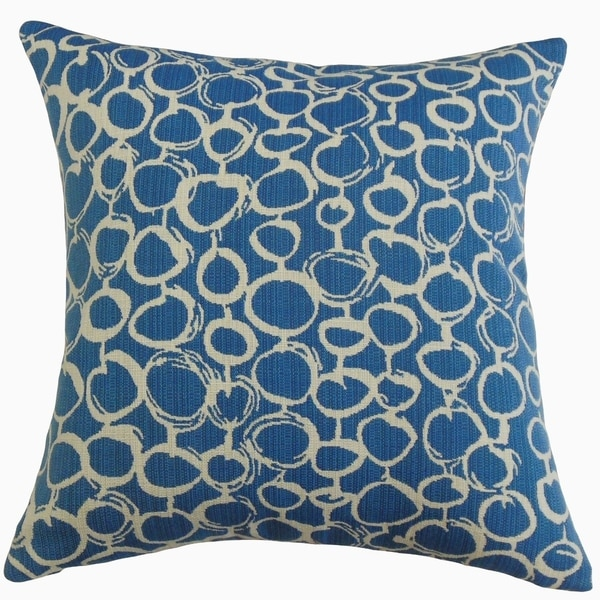 Velisa Geometric Throw Pillow Caribbean