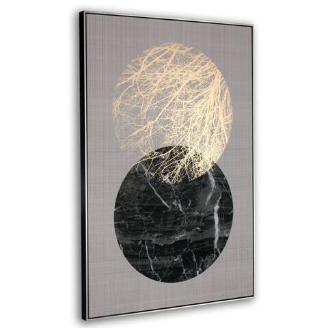 Lunar Framed Canvas