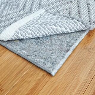 RugPadUSA, Basics 1/4 inch Felt + Rubber Rug Pad - Black