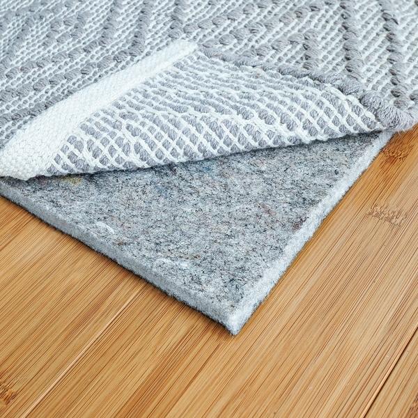 Shop Rugpadusa Basics 1 4 Inch Felt Rubber Rug Pad