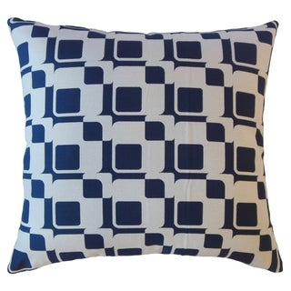 Wealote Geometric Throw Pillow Navy
