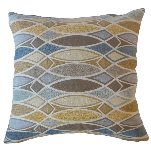 Abiel Geometric Throw Pillow Dawn