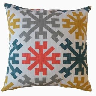 Obert Geometric Throw Pillow Kenshaw