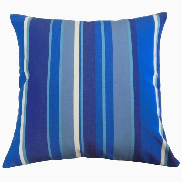 Xanto Striped Throw Pillow Marine