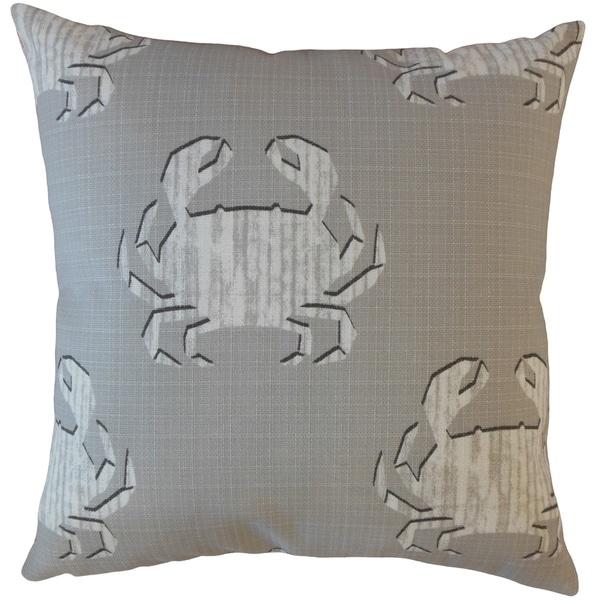 Rais Coastal Throw Pillow Seasalt