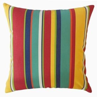 Xanto Striped Throw Pillow Carnival