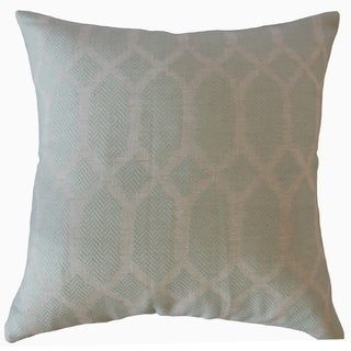 Qadr Geometric Throw Pillow Spa