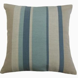 Scotlyn Striped Throw Pillow Opal