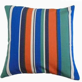 Xanto Striped Throw Pillow Fiesta