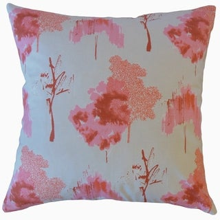 Kaira Ikat Throw Pillow Sunset