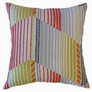 Parkin Stripes Throw Pillow Sunrise