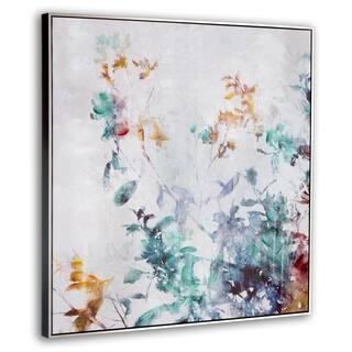 Lively Garden Framed Canvas - Multi-Color