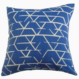 Umatilla Geometric Throw Pillow Ocean