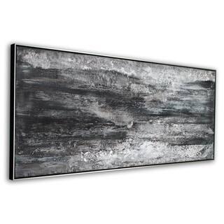 Caliginous Framed Canvas