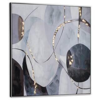 Graphite Framed Canvas