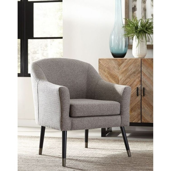 Stock And Bolton Mid Century Accent Chair: Shop Robbins Mid-century Modern Grey Accent Chair