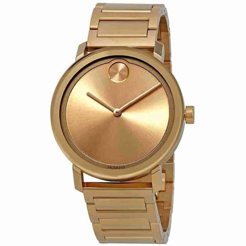 Movado Men's 3600508 'Bold ' Gold-Tone Stainless Steel Watch