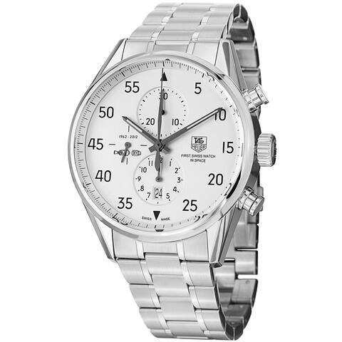 Tag Heuer Men's CAR2015.BA0796 'Carrera Space X' Chronograph Automatic Stainless Steel Watch
