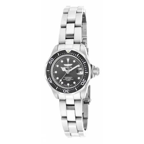 Invicta Women's 17032 'Pro Diver' Stainless Steel Watch