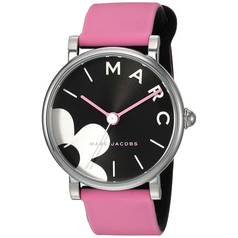 Marc Jacobs Women's MJ1622 'Classic' Pink Silicone Watch