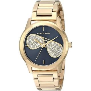 e0cc7bf8b422 Michael Kors Women s MK3647  Hartman  Crystal Gold-Tone Stainless Steel  Watch