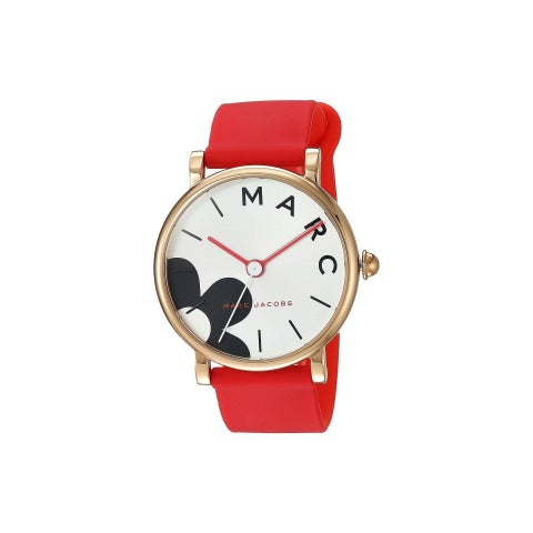 Marc Jacobs Women's MJ1623 'Classic' Red Silicone Watch
