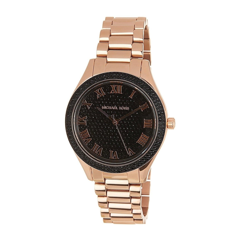 Michael Kors Womens MK3320 Blake Rose-Tone Stainless Steel Watch
