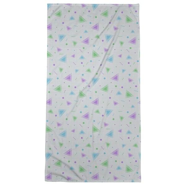 Katelyn Elizabeth Peacock 90 S Retro Pattern Bath Towel Poly Cotton Multi Overstock 27377033