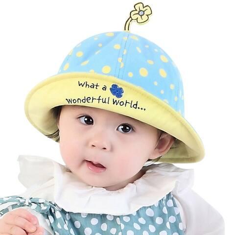 Baby's Dot Sun Hat Lightweight Bucket Hat UPF 50