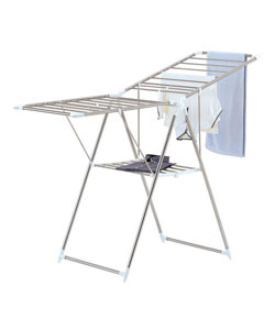 Organize It All 1024-1 Large Collapsible Chrome Finish Drying Rack
