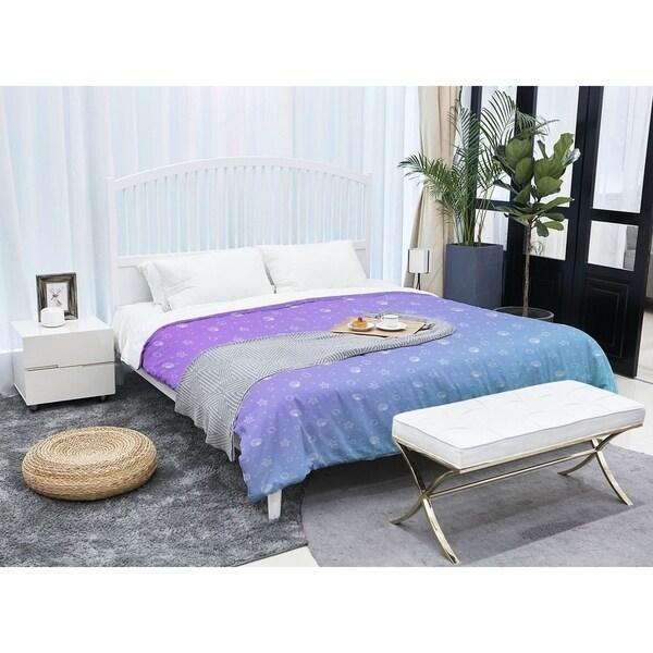 Katelyn Elizabeth Purple Blue Seashell Pattern Comforter Free Shipping Today 27385482
