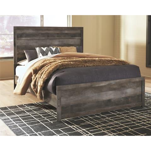 Wynnlow Grey Panel Bed
