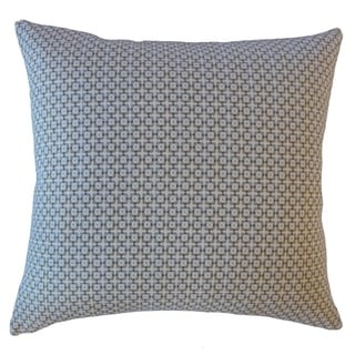 Feleti Geometric Throw Pillow Buckwheat