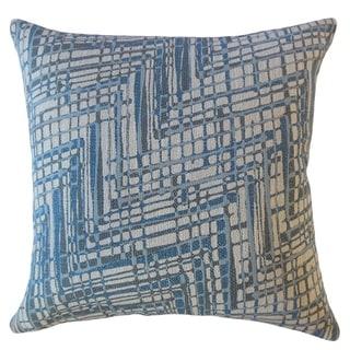 Eadoin Geometric Throw Pillow Cornflower