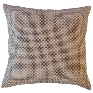 Feleti Geometric Throw Pillow Marmalade