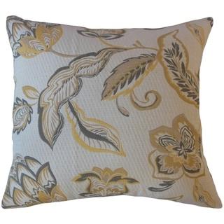 Landers Floral Throw Pillow Pollen