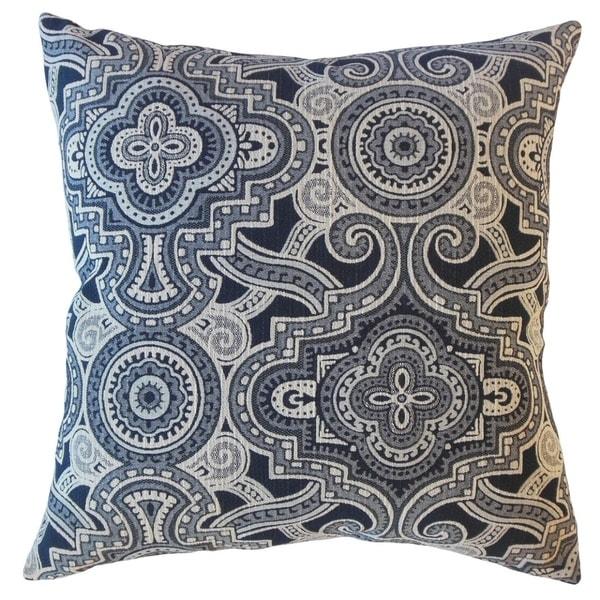 Jacory Geometric Throw Pillow Onyx