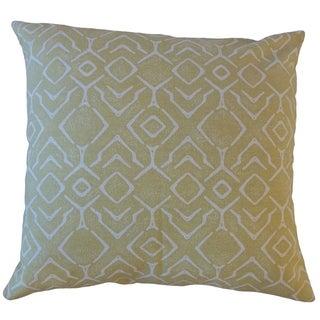 Maame Geometric Throw Pillow Trumpet