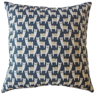 Napua Graphic Throw Pillow Navy