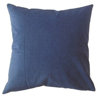 Hamlin Solid Throw Pillow Indigo