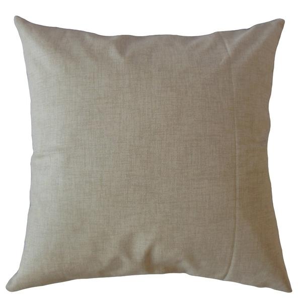 Hamlin Solid Throw Pillow Caramel