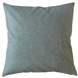 Hamlin Solid Throw Pillow Blue