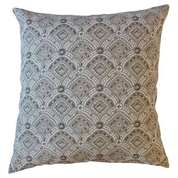 Jarmo Geometric Throw Pillow Basket