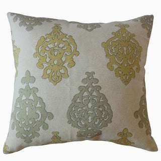 Palti Damask Throw Pillow Tarrazo