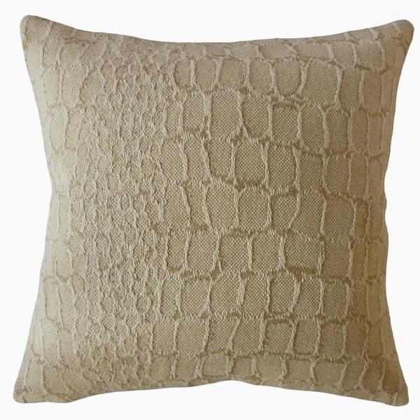 Eivor Solid Throw Pillow Oatmeal