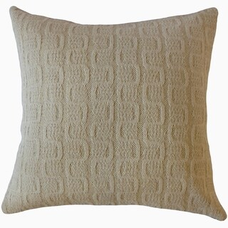 Javion Solid Throw Pillow Oatmeal