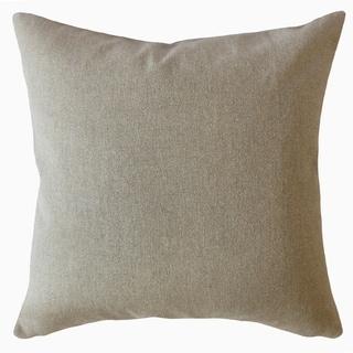 Kadmiel Solid Throw Pillow Tweed