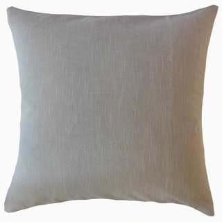 Rance Solid Throw Pillow Granite